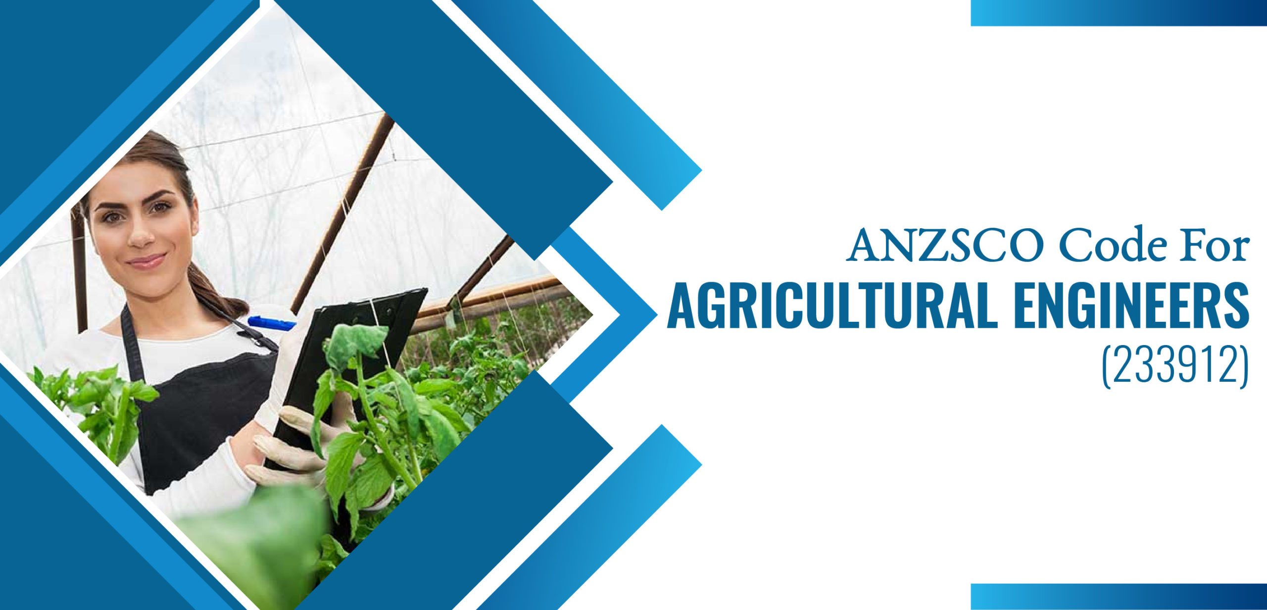 ANZSCO Code for Agricultural Engineer