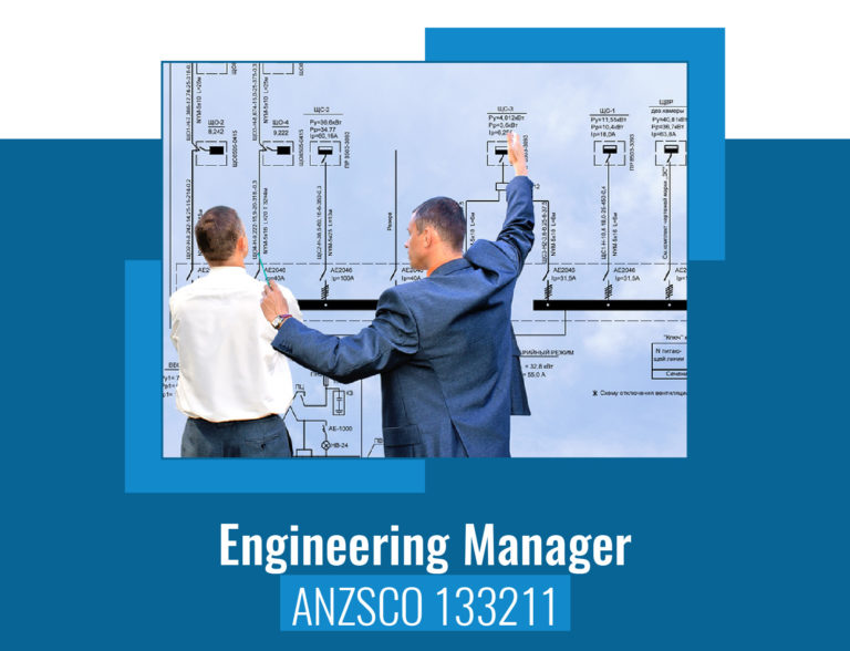 ANZSCO codes for Engineering Manager