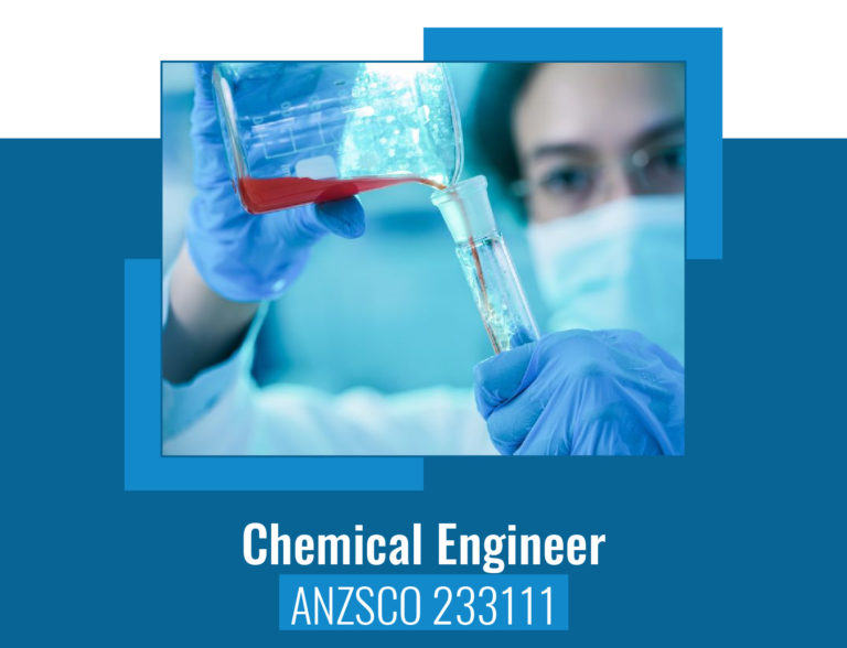 ANZSCO codes for Chemical Engineer