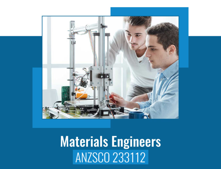 ANZSCO codes for Material Engineer