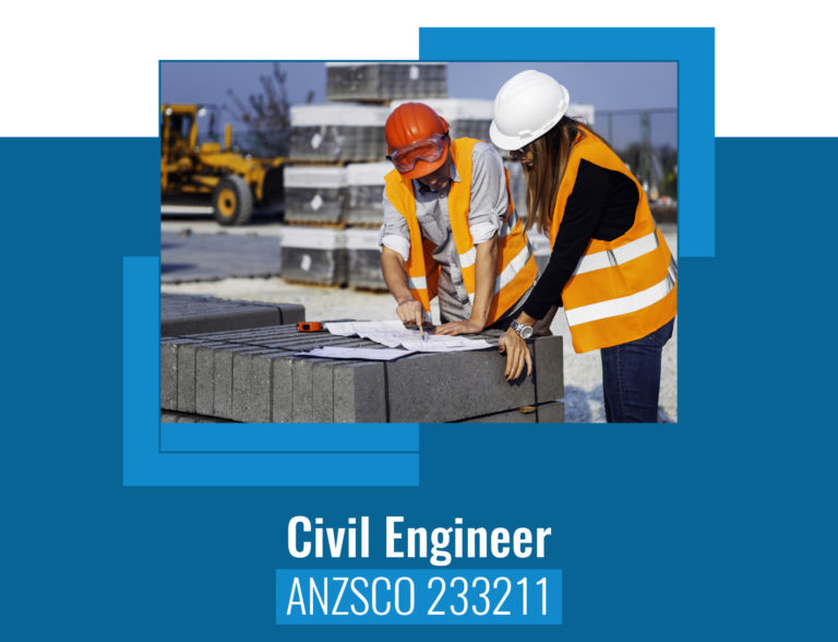 ANZSCO codes for civil Engineer