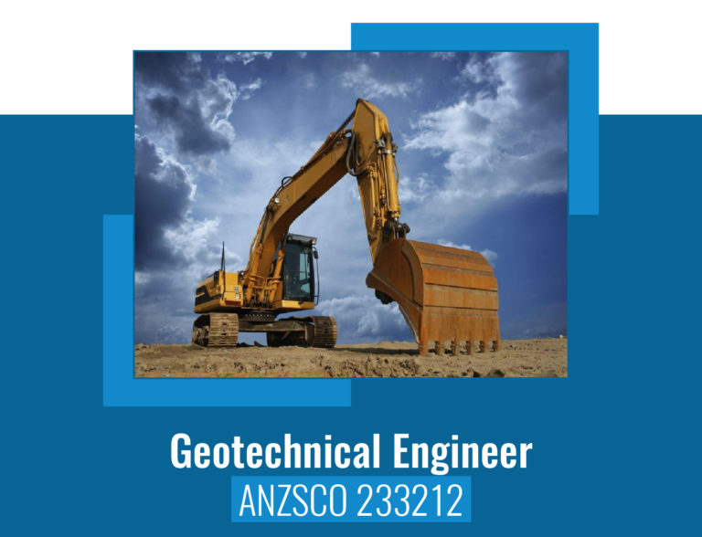 ANZSCO codes for Geotechnical Engineer