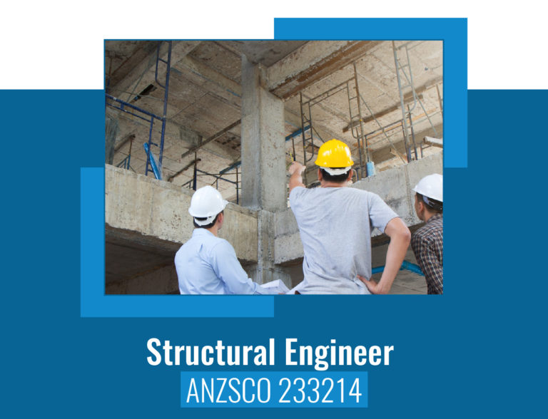 ANZSCO codes for Structural Engineer