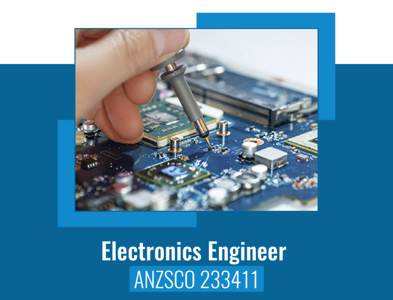 ANZSCO code for Electronics Engineer
