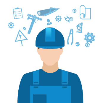 Electrical Engineering Draftsperson icon