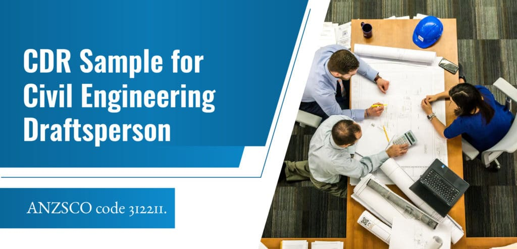 CDR Sample for Civil Engineering Draftsperson