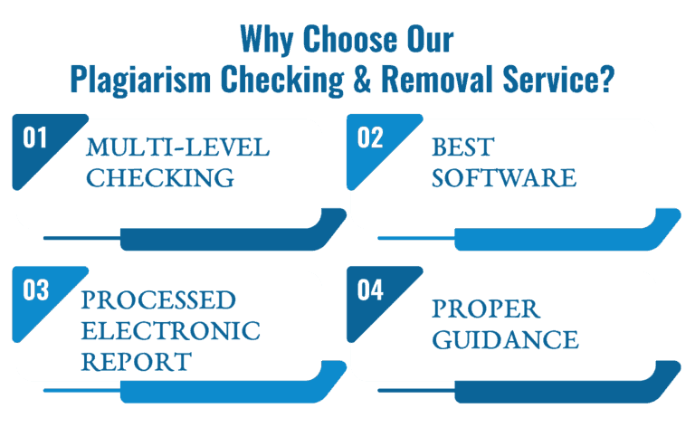 why choose our plagiarism checking and removal service?