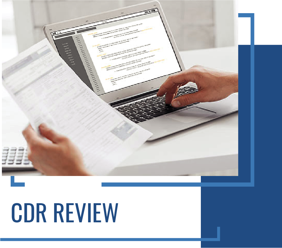 CDR Services - CDR Review