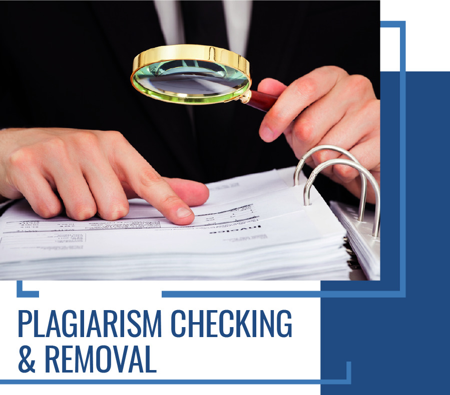 CDR Services - Plagiarism Check and Removal