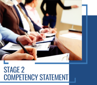 Stage 2 Competency statement