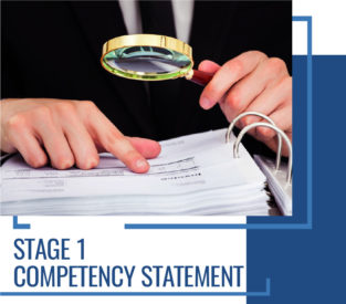 Stage 1 Competency statement