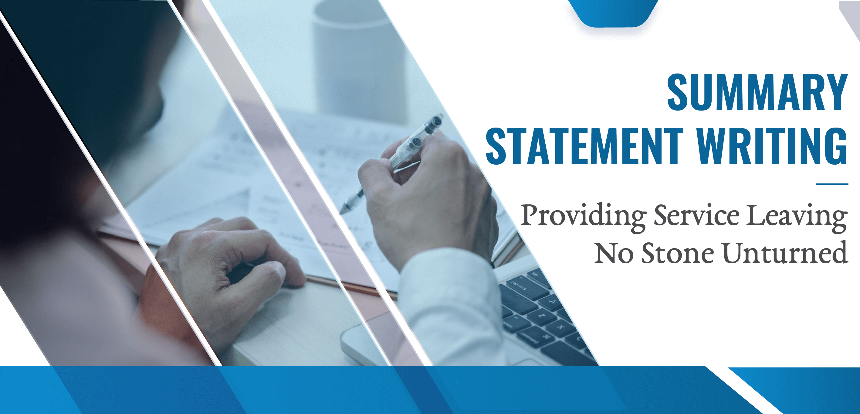 Summary statement writing